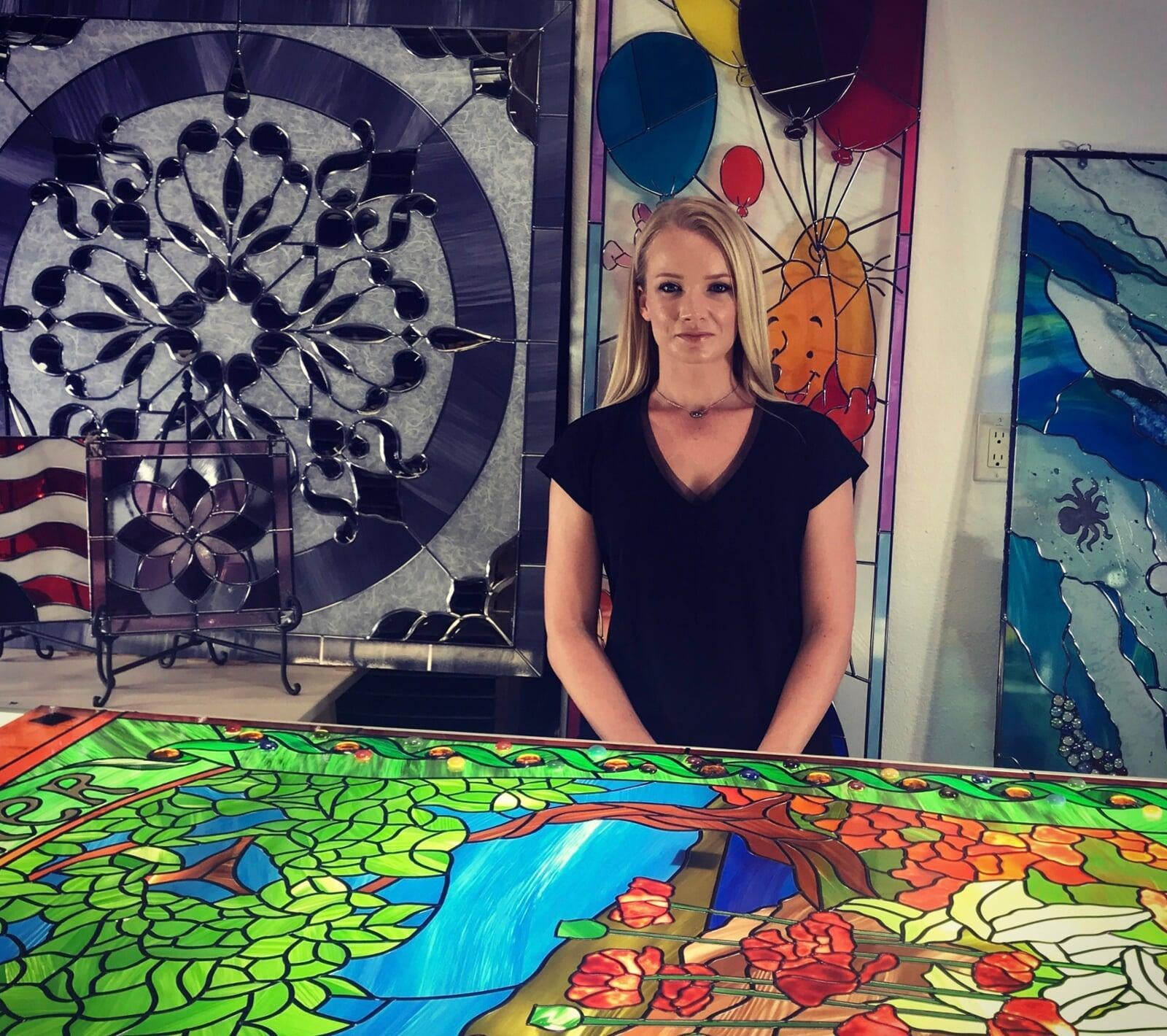 Meet the artist, Alexandra Huggins